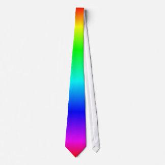 rainbow colors neck tie