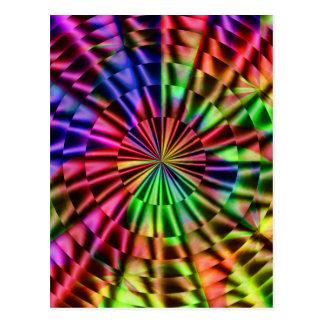 Rainbow colors of Life_ Postcard