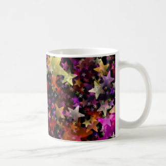 Rainbow Colors of Stars Background Coffee Mug