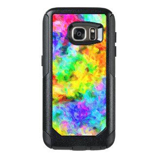 Rainbow Colors Oil Paint OtterBox Samsung Galaxy S7 Case