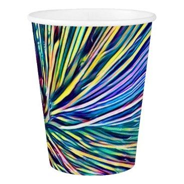 loscrazyavocados Rainbow Colors Plant Funky Paper Cup