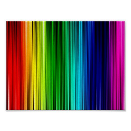 Rainbow Colors Poster