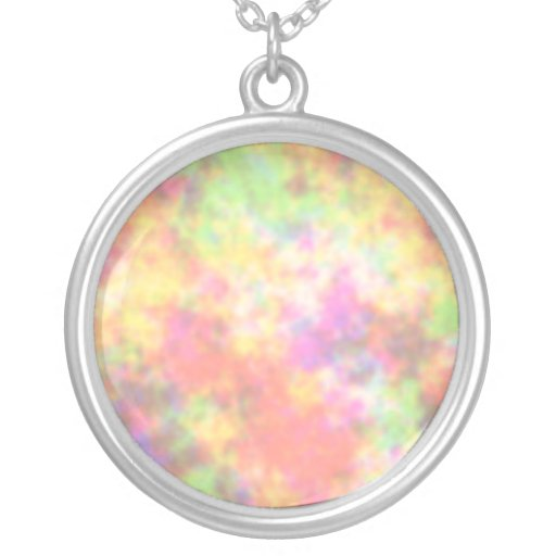 Rainbow Colors. Pretty, Colorful Clouds. Jewelry