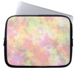 Rainbow Colors. Pretty, Colorful Clouds. Computer Sleeve