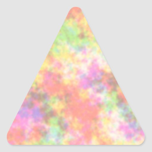 Rainbow Colors. Pretty, Colorful Clouds. Sticker