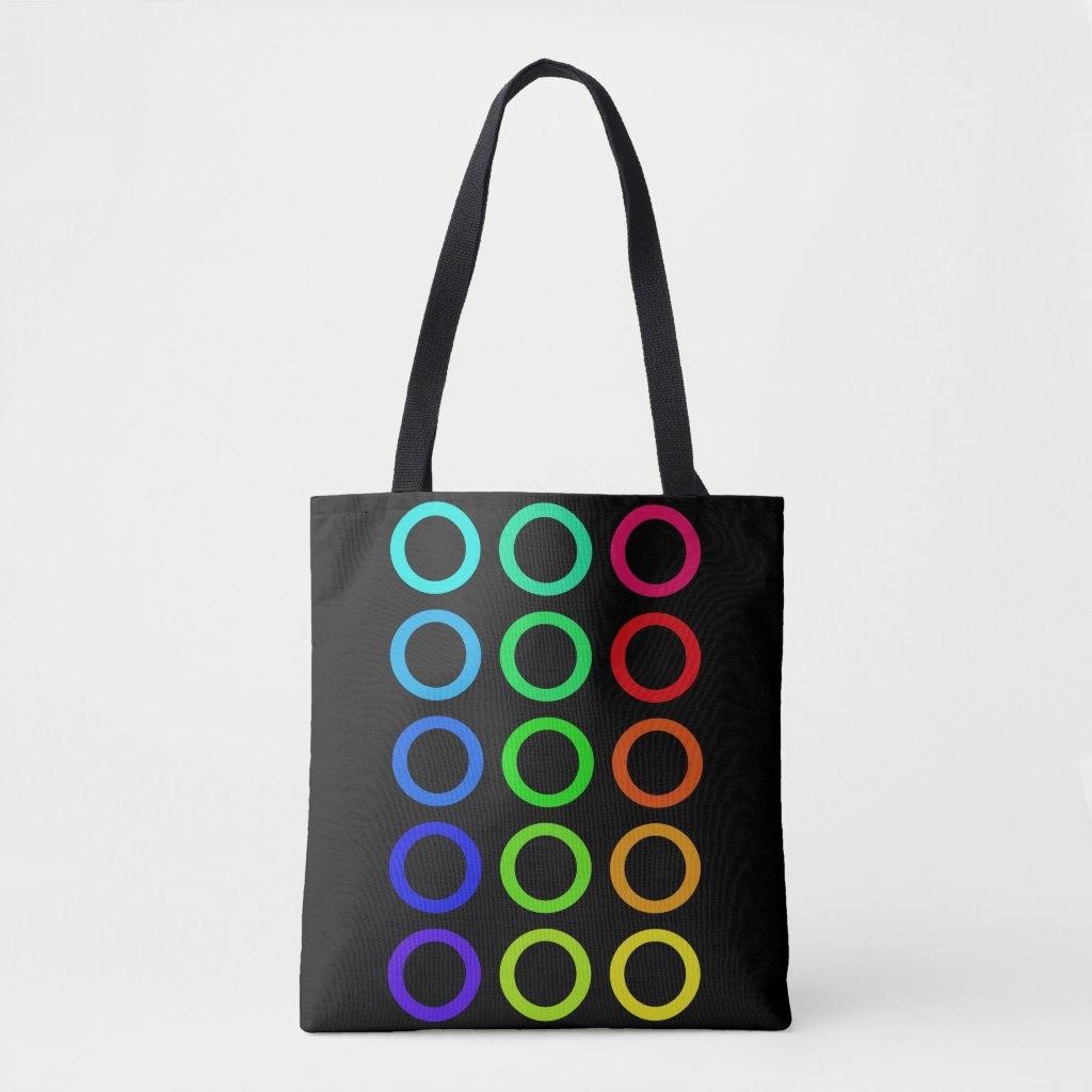 Rainbow Colors PRIDE Beach Concert Bags