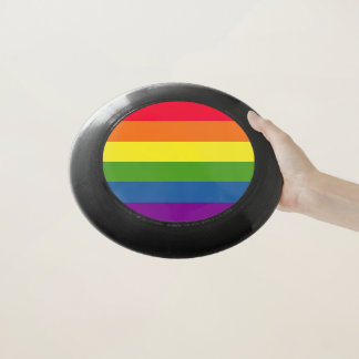 Rainbow Colors Pride Celebration Wham-O Frisbee
