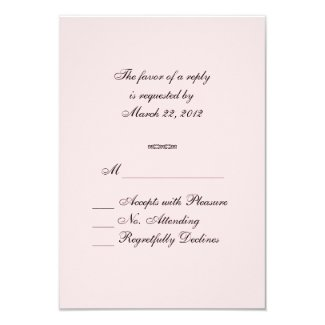 Rainbow Colors RSVP Personalized Invitations