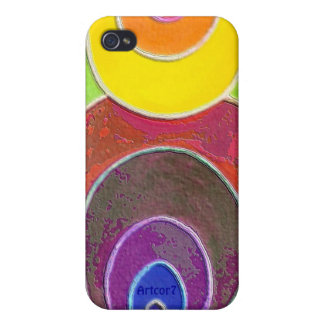 Rainbow Colors Spirals iPhone4 Speck Case iPhone 4 Cover