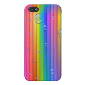 Rainbow Colors Stripe iPhone 5 Case