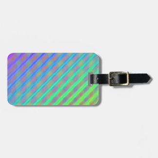 Rainbow Colors Striped Pattern Bag Tags