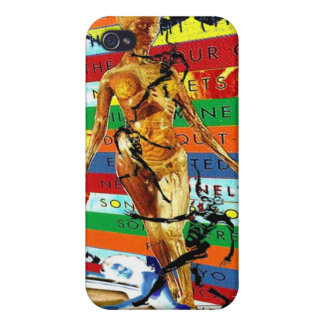 Rainbow colors with dark Humor (Jacob's Ladder) Cover For iPhone 4