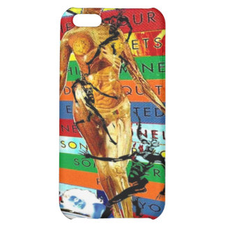 Rainbow colors with dark Humor (Jacob's Ladder) Case For iPhone 5C