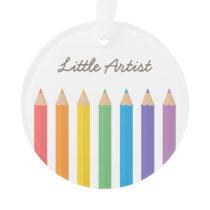 Rainbow Colouring Pencils School Kids Room Decor Ornament