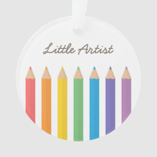 Rainbow Colouring Pencils School Kids Room Decor Ornament