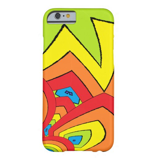 Rainbow Colours Barely There iPhone 6 Case