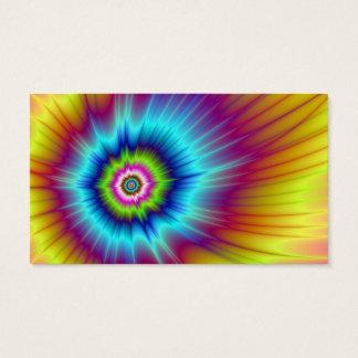 Rainbow Comet Card