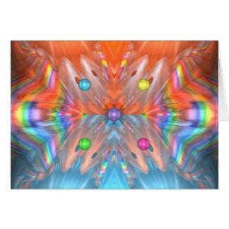 Rainbow Cones Card