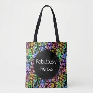 Rainbow, Confetti, Colorful, Sequin, Colourful Tote Bag