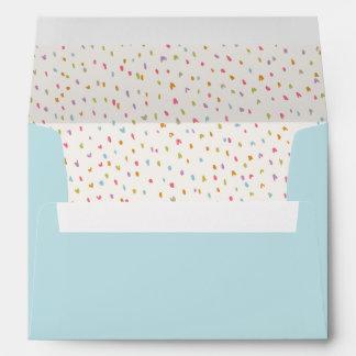 Envelopes - Rainbow Confetti Dot Envelopes
