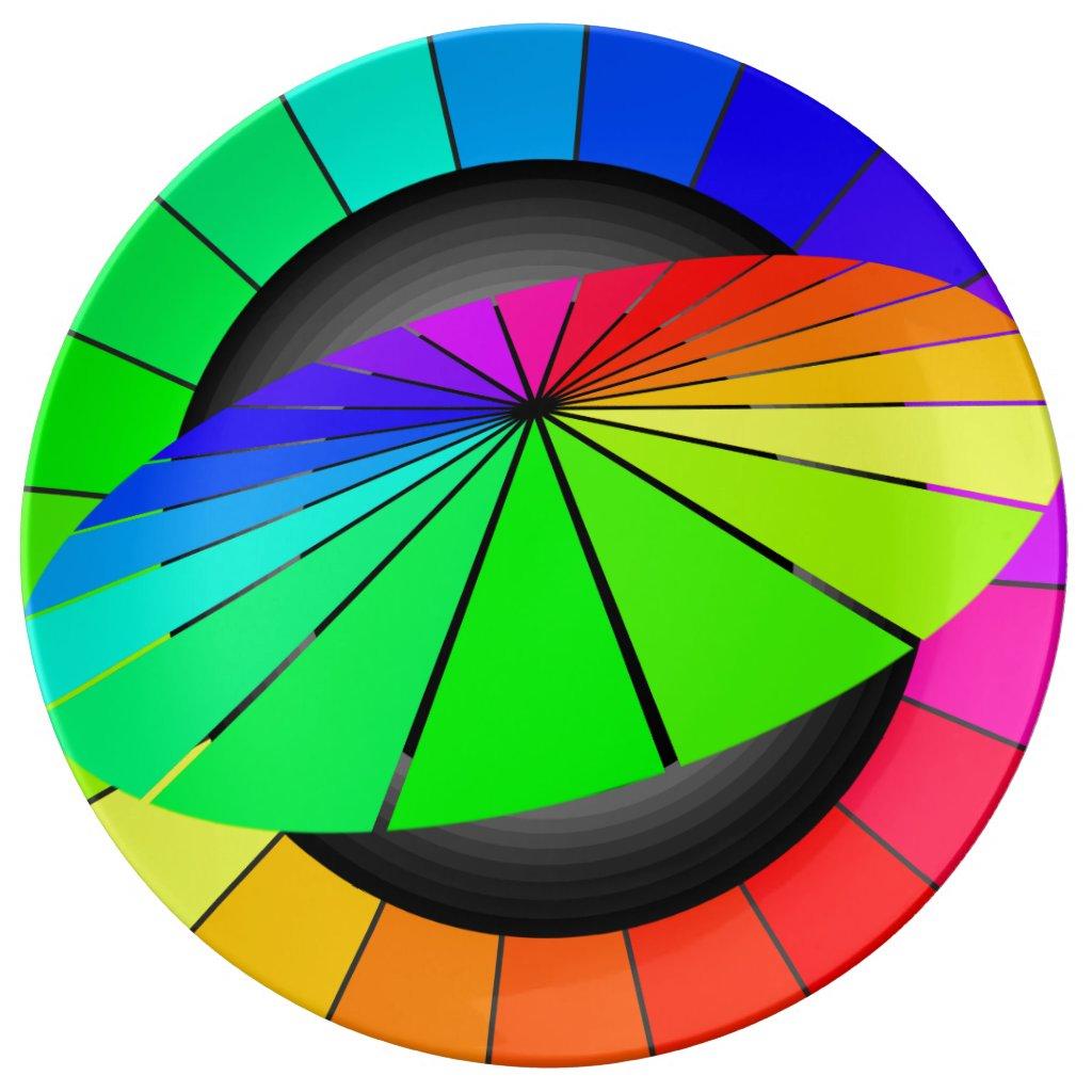 Rainbow Contemporary Dining Modern Dinnerware