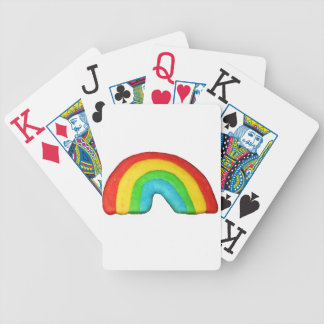 Rainbow Cookie Bicycle Playing Cards