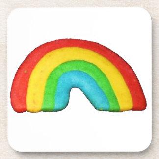 Rainbow Cookie Coaster