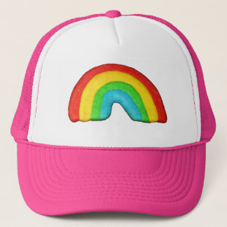 Rainbow Cookie Trucker Hat