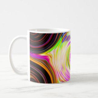 Rainbow Cosmic Rays Polar 5 Swirl Mug