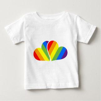 Rainbow Couple Baby T-Shirt