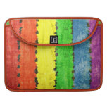 Rainbow Crayon Colors Sleeves For MacBook Pro