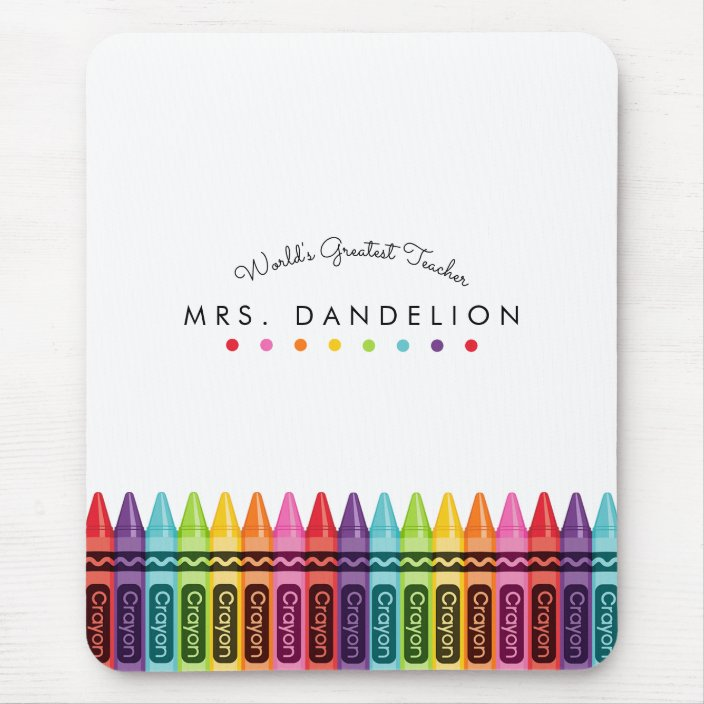 Personalized Multicolor Crayons