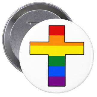 Rainbow Cross Pin
