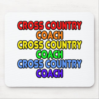 Rainbow Cross Country Coach Mousepads