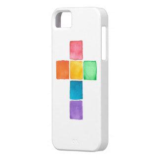 Rainbow Cross iPhone SE/5/5s Case