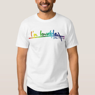 Rainbow cross shirt