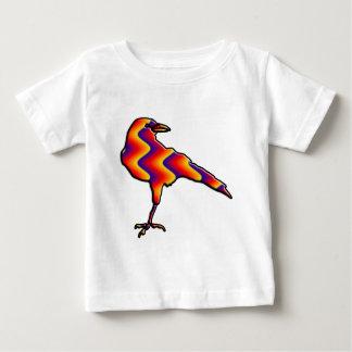 Rainbow Crow Baby T-Shirt