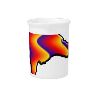 Rainbow Crow Drink Pitchers