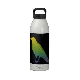 Rainbow Crow Water Bottle