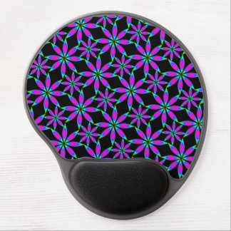 Rainbow crystals (tartaric acid from red wine) gel mouse pad