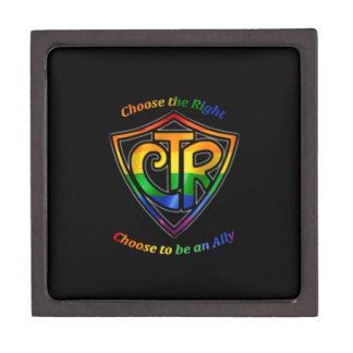 Rainbow CTR - LDS LGBT Ally Jewelry Box