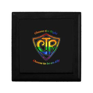 Rainbow CTR - LDS LGBT Ally Keepsake Box