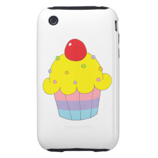 Rainbow Cupcake iPhone 3 Tough Covers