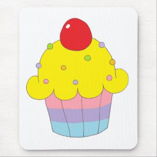 Rainbow Cupcake Mouse Pad