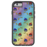 Rainbow curling pattern tough xtreme iPhone 6 case
