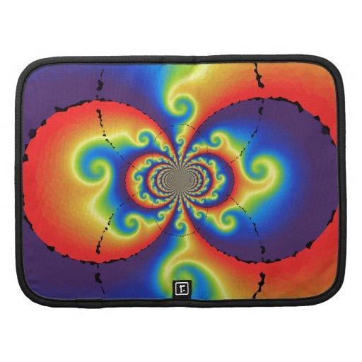 rainbow curls folio planner