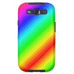 Rainbow Customizable Galaxy SIII Cover