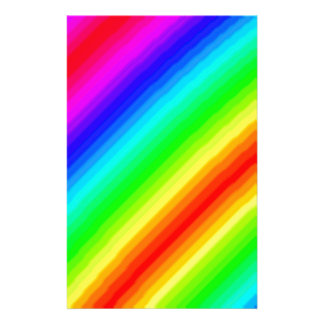 Rainbow Customizable Custom Stationery