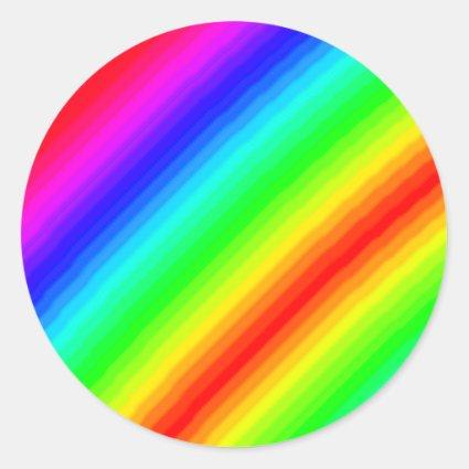 Rainbow Customizable Sticker