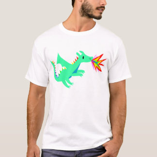 Rainbow cute dragon shirt